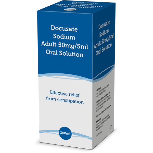 Product thumbnail for Docusate Adult Oral Solution