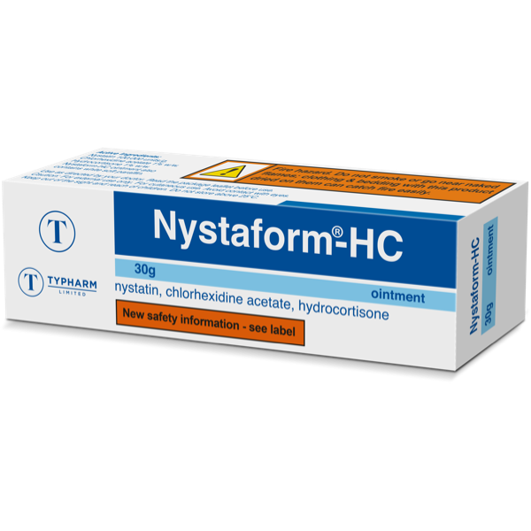 Product thumbnail for Nystaform HC Ointment